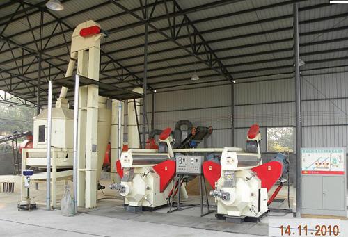 0.5 Tons Per Hour Biomass Pellet Production Line